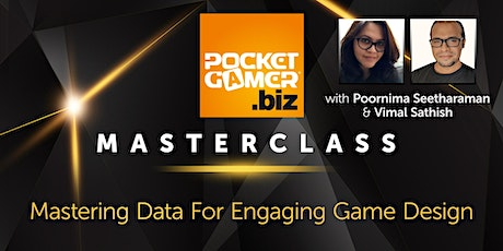 MasterClass: Mastering Data for Engaging Game Design tickets