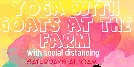Yoga with Goats on The Farm tickets
