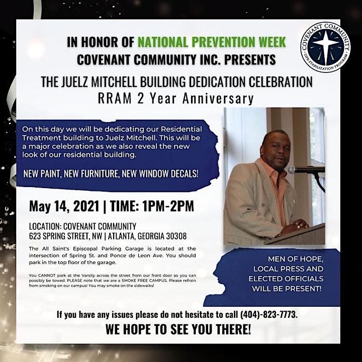 Covenant Community, Inc. celebrates National Prevention Week image