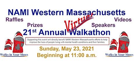 NAMI Western Massachusetts 21st Annual Virtual Walkathon tickets