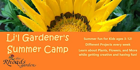Li'l Gardener Summer Camp: Rock Garden Succulents tickets