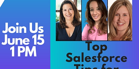 Top Salesforce Tips for M&A Events tickets