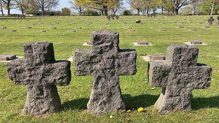*FREE* VIDEO WEBINAR | VIRTUAL D-DAY | MARIGNY German Cemetery image
