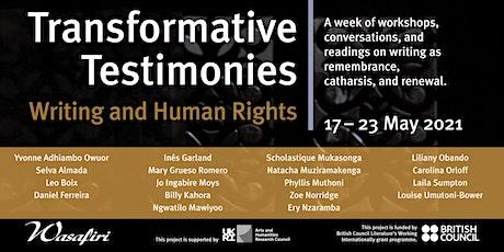 Transformative Testimonies: Voices of Testimony tickets