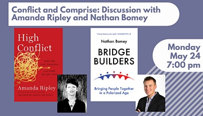 Nathan Bomey and Amanda Ripley Discuss Conflict and Bridge Building tickets