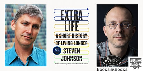 P&P Live! Steven Johnson | EXTRA LIFE with Tim Harford tickets