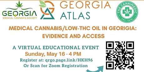 Medical Cannabis/Low THC Oil in Georgia: Evidence and Access tickets