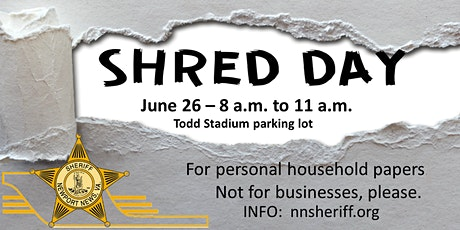 Shred Day - NO TICKET NEEDED tickets