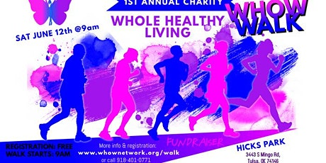 WHOW Walk (Whole Healthy Living) tickets