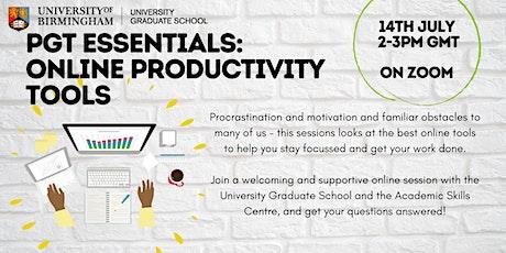 PGT Essentials: Online Productivity Tools tickets