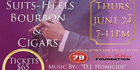 Suits-Heels Bourbon & Cigars tickets