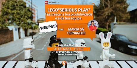 Meetup #94: Webinar LEGO®SERIOUS PLAY®: Faz crescer a produtividade bilhetes