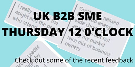 4N Online B2B SME  Business Networking tickets