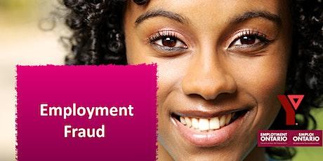 Employment Fraud tickets