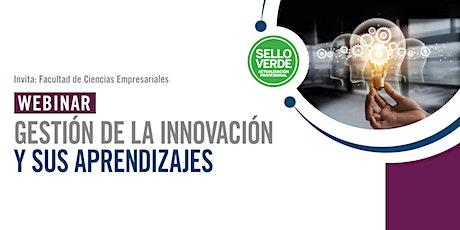 Sello verde: Gestión de la innovación y sus aprendizajes entradas