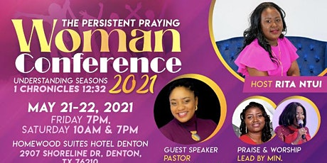 Persistent Praying Woman Conference 2021 boletos