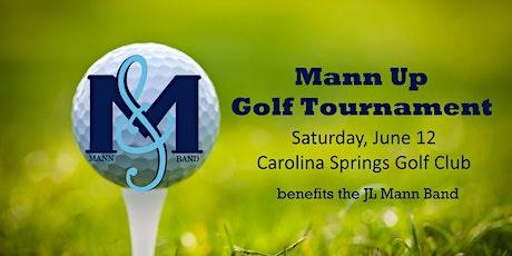Inaugural Mann Up Golf Tournament tickets