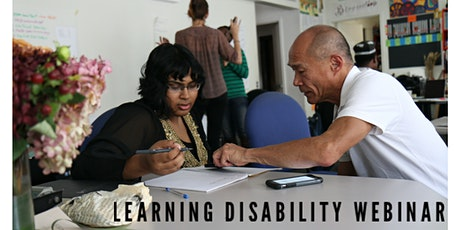 Learning Disability Webinar tickets