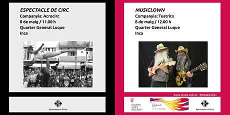 Espectacle de Circ + Musiclown tickets