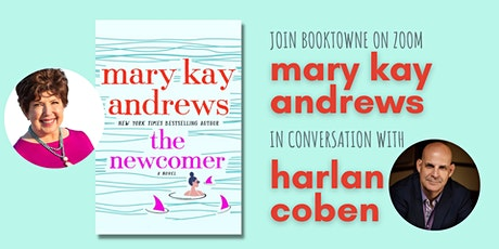 Join us on Zoom: Mary Kay Andrews in conversation with Harlan Coben! tickets