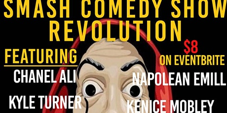 SMASH COMEDY SHOW REVOLUTION tickets