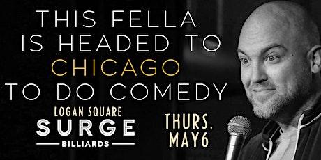 Cory Michaelis in Chicago (Surge Billiards - Logan Square) tickets