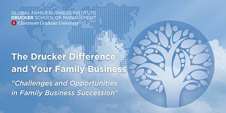 Challenges and Opportunities in Family Business Succession tickets