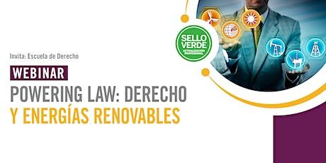 Sello verde: Powering Law: derecho y energías renovables entradas