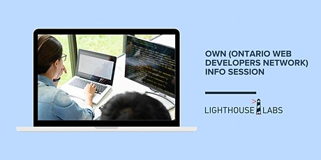OWN (Ontario Web Developers Network) Info Session tickets