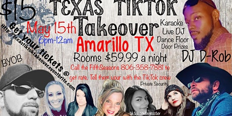 Texas TikTok Takeover tickets