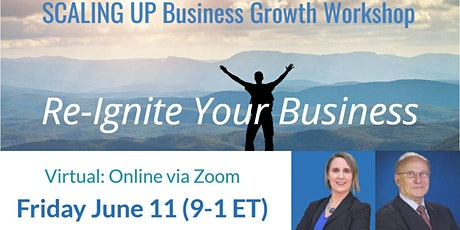 Scaling Up Business Growth Workshop (Virtual, WNY, Ontario, Great Lakes) tickets