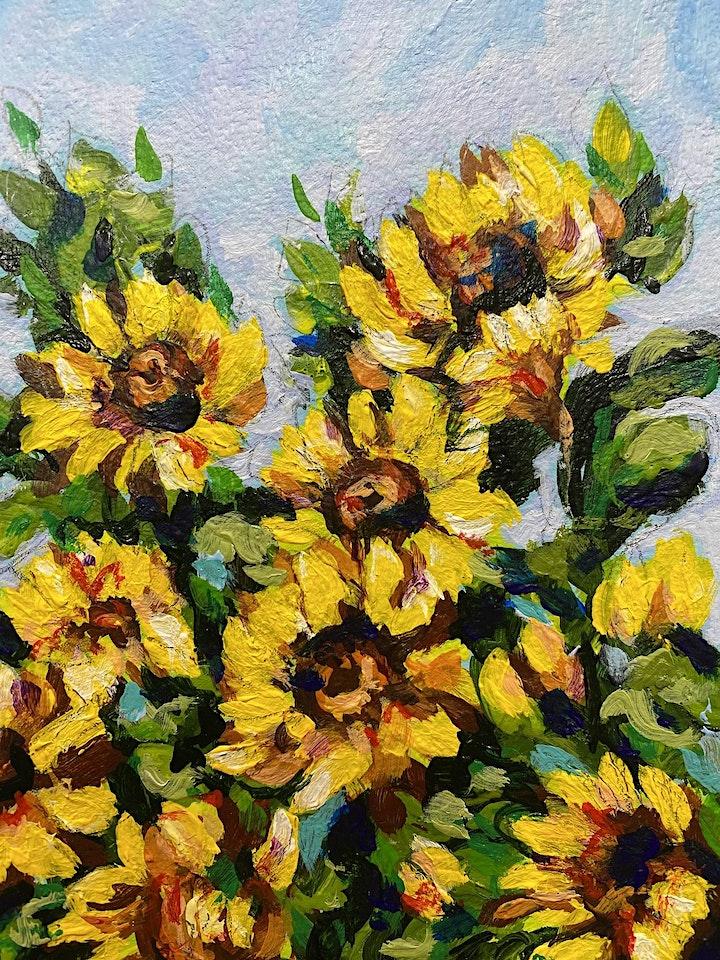 Field of Sunflowers - Art Class image