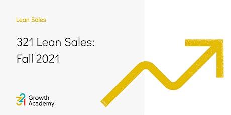 321 Lean Sales: Fall 2021 tickets