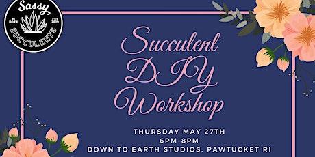 Succulent DIY Workshop tickets