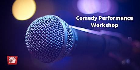 Comic Cure Comedy Performance Workshop bilhetes