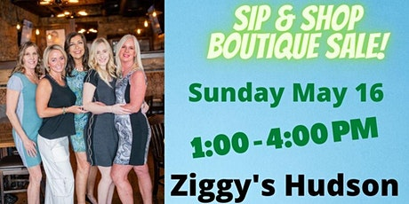 Sip and Shop Boutique Sale tickets