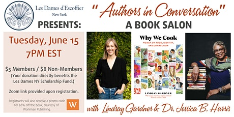 LES DAMES NY PRESENTS:  AUTHORS IN CONVERSATION. A BOOK SALON. tickets