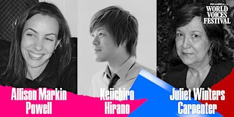 Love and Language: Keiichiro Hirano and Juliet Winters Carpenter tickets