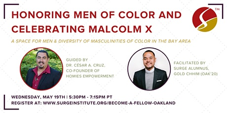 Honoring Men of Color & Celebrating Malcolm X tickets