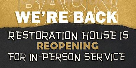 Sunday Service @ Rowan Road - RCCG Restoration House tickets