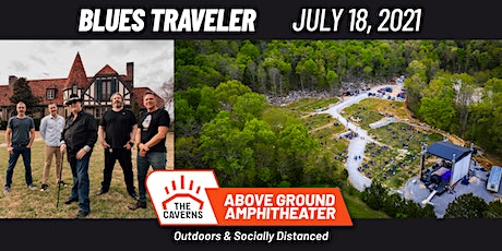 Blues Traveler at The Caverns Above Ground Amphitheater tickets
