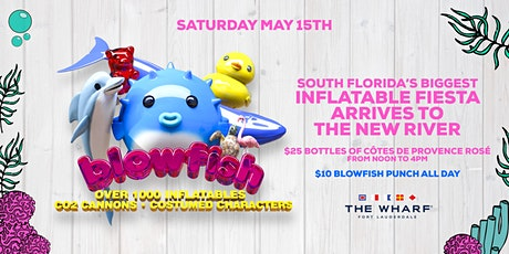 "Blowfish ""Fort Lauderdale's Biggest Inflatable Extravaganza!"" tickets"