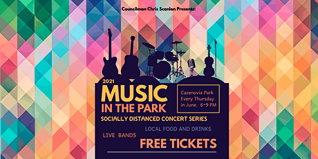 Music in the Park - 2021 - Crikwater tickets