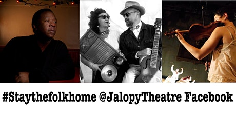 Stay The Folk Home! Online Concerts feat. Folk, Blues, Country & Trad Jazz tickets