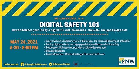 Digital Safety 101 tickets