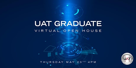 UAT Graduate Virtual Open House tickets