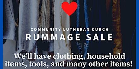 Community Rummage Sale tickets