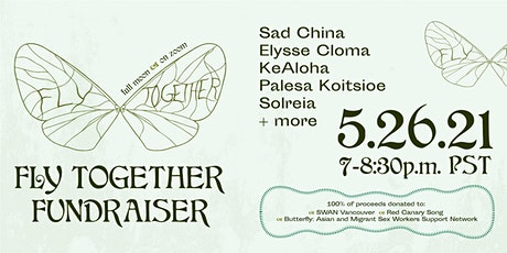 FLY TOGETHER Fundraiser w/ Live(stream) Performances tickets
