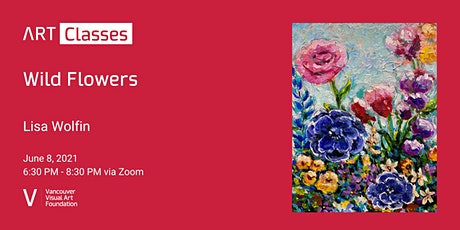 Wild Flowers - Art Class tickets
