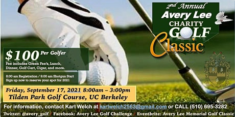 Avery Lee Charity Golf Classic tickets